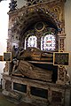 Church of Ss Mary & Lawrence interior - north aisle Everard Monument.JPG