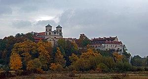 Tyniec - Image: Church of St.Peter and St.Paul and Benedictine Monastery (Abbey in Tyniec), 37 Benedyktyńska street, Tyniec, Krakow, Poland