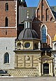 Church of St. Stanislaus and St. Wenceslaus, Vasa Dynasty chapel, Wawel Hill, Kraków, Poland.jpg