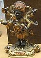 Cina, mahakala, guardiano della dottrina (dharmapala), nell'aseptto sitacintamani, xviii sec..JPG
