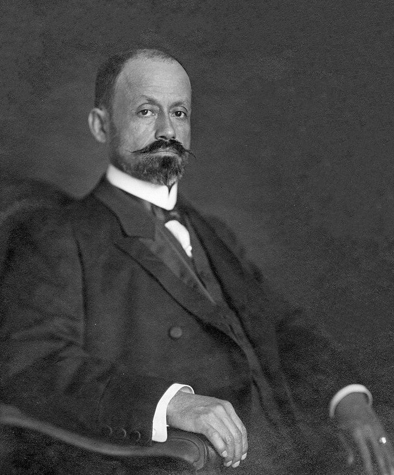 Cipriano Castro 1908