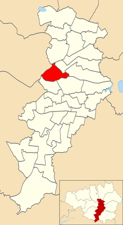 City Centre electoral ward within Manchester City Council