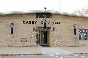 Casey, Illinois - Casey city hall