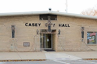 Casey, Illinois - Casey city hall