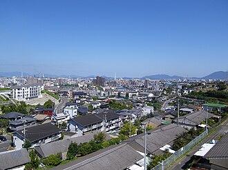 Fukuoka Prefecture - Image: Cityscape of Tobata,Kitakyushu