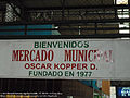 Ciudad Quesada, Costa Rica municipal market sign.jpg