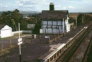 Clapham railway station - Eastbound platform