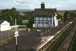 Clapham railway station Railway station in North Yorkshire, England