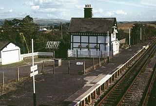 Clapham railway station Station in North Yorkshire, England