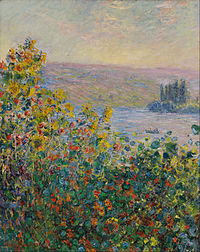 Claude Monet - Flower Beds at Vétheuil - Google Art Project.jpg