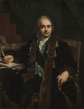 Jean-Antoine Chaptal - Portrait of Count Jean-Antoine Chaptal (1824) by Antoine-Jean Gros