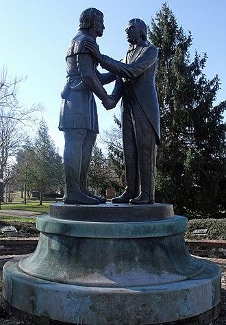 Constitution Square Historic Site - Image: Closeup of Governor's Circle