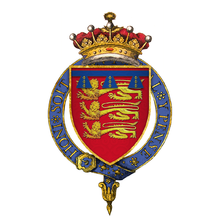 Coat of Arms of Henry of Grosmont, 4th Earl of Lancaster, KG.png