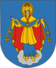 Coat of Arms of Maładečna, Belarus.png