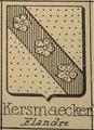 Coat of Arms of Willem De Kersemakere.png