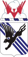 Coat of arms of 505th Infantry Regiment