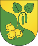 Coat of arms of Arechaŭsk.png