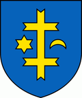 Coat of arms of Topoľčany.png