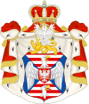 Coat of arms of the House of Petrović-Njegoš.svg