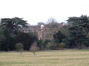 Gravesham - Cobham Hall viewed across the park