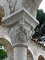 Codalet (66) Abbaye Saint-Michel de Cuxa Cloître Chapiteau 47.JPG