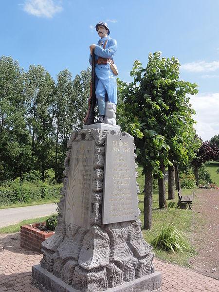 Coingt (Aisne) monument aux morts