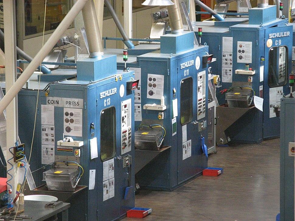 Coining presses, Royal Australian Mint