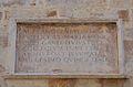 Col·legiata de Gandia, inscripció commemorativa.JPG