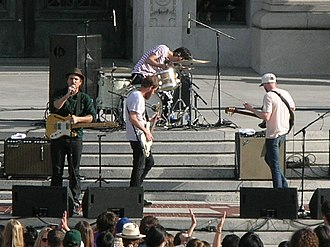Cold War Kids - Cold War Kids performing at Cal Day 2010 in UC Berkeley on April 17