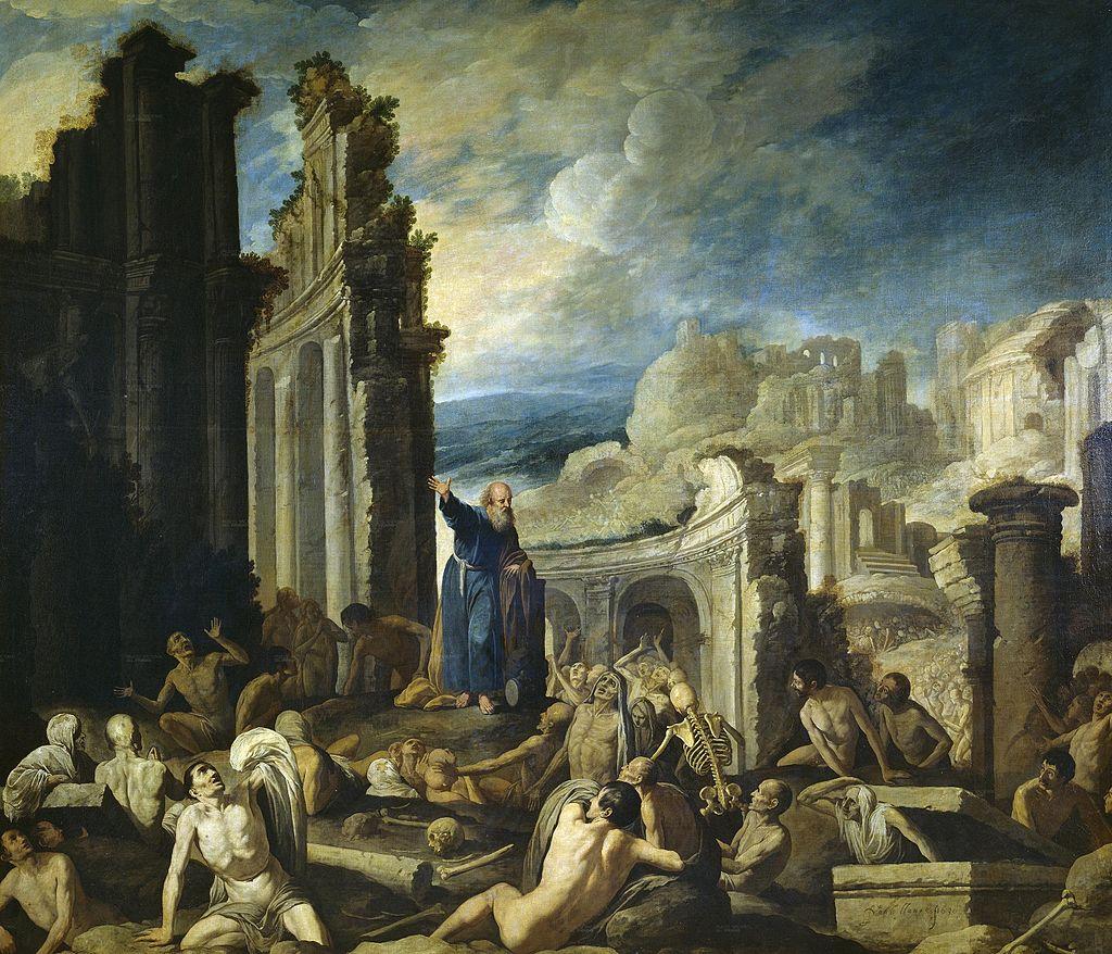 에스겔의 환상 (프란치스코 콜란테스, 1630년)