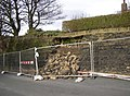 Collapsed wall, Green Cliff, Honley - geograph.org.uk - 707906.jpg