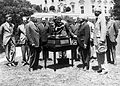 Collier Trophy presentation 1929 (7584825726).jpg