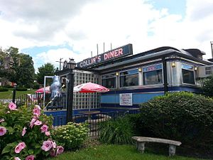 Jerry O'Mahony Diner Company - Collin's Diner, North Canaan, Connecticut, USA