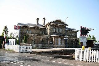 Collingham railway station Railway station in Nottinghamshire, England