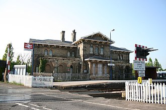Collingham railway station - Image: Collingham Railway Station