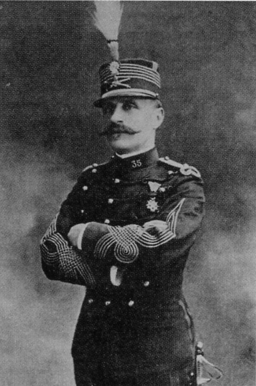 Colonel Foch - 35 RA - 1903