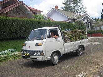 Mitsubishi Delica - 1975–1979 Colt T120, equivalent to Delica 1400 (Indonesia)