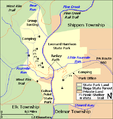 Colton Point and Leonard Harrison State Parks Map.png