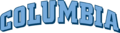 Columbia Lions wordmark.png