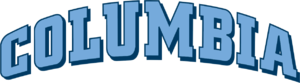 2014 Columbia Lions football team - Image: Columbia Lions wordmark