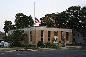 Columbus Post Office - Image: Columbus Wisconsin Post Office