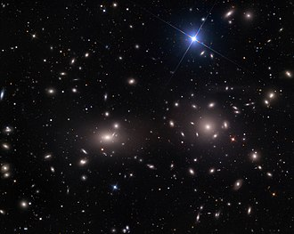 Bautz–Morgan classification - Image: Coma Cluster of Galaxies (visible, wide field)