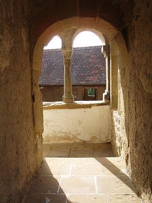 Comburg - Image: Comburg Wehrgang