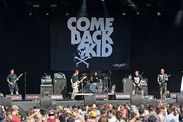 Comeback Kid live in 2016