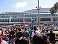 Comic-Con 2010 - crowds constantly flow into the convention center (4874442263).jpg