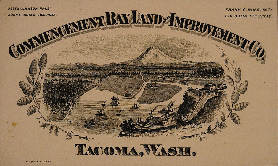 Commencement Bay Land Improvement Co. business card