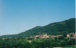 Parella Comune in Piedmont, Italy