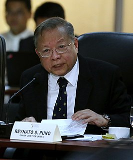 Reynato Puno Filipino judge