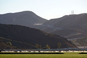 Conejo Grade - View of the Conjeo Grade from Camarillo, CA