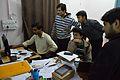 Conference Preparation - Bengali Wikipedia 10th Anniversary Celebration - Jadavpur University - Kolkata 2015-01-07 2327.JPG